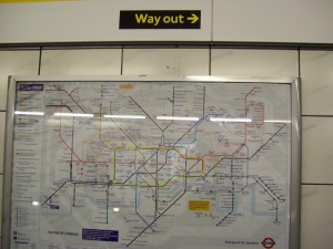 Tube Map & Sign