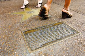 Chuck Berry's Walk of Fame Star, courtesy of <a href=