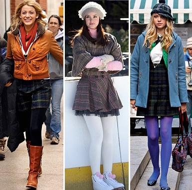 Excellent use of transit-savy legwear, ladies. (Photo via seattlepi.com)