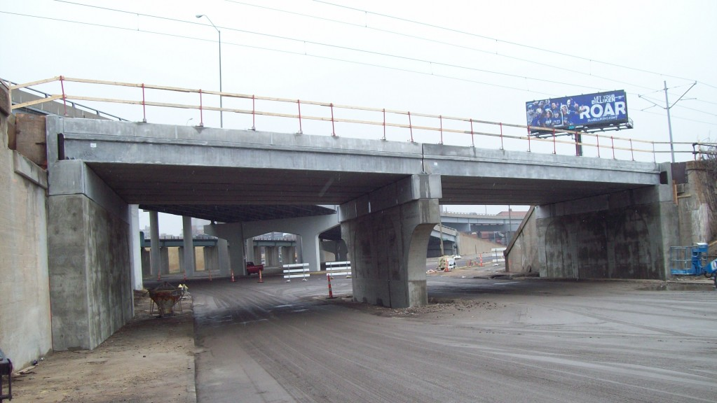 Vandeventer Bridge, December 31, 2009