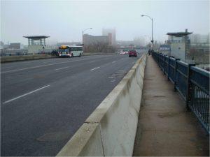 Grand Bridge at Metro Bus stop.