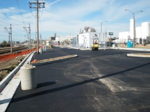 New park-ride lot at Grand Station