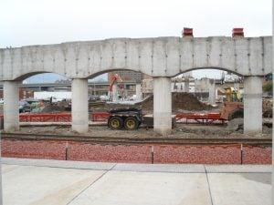 New Grand bridge piers