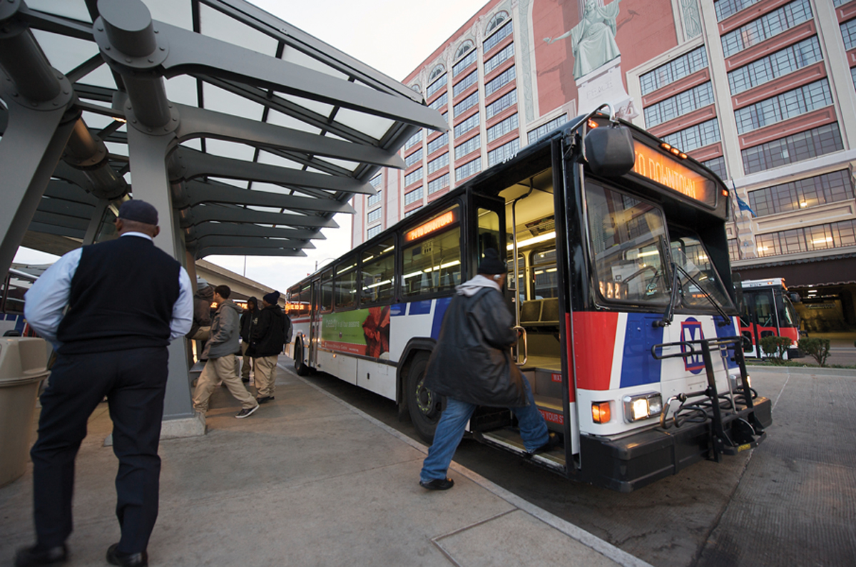 Metrobus Will Transport Customers To Five Downtown And