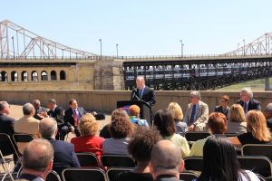 Eads Bridge Rehabilitation Announcement May 22, 2012 John Nations