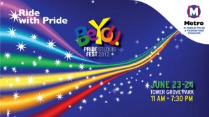 Pride Fest St. Louis 2012 and Metro
