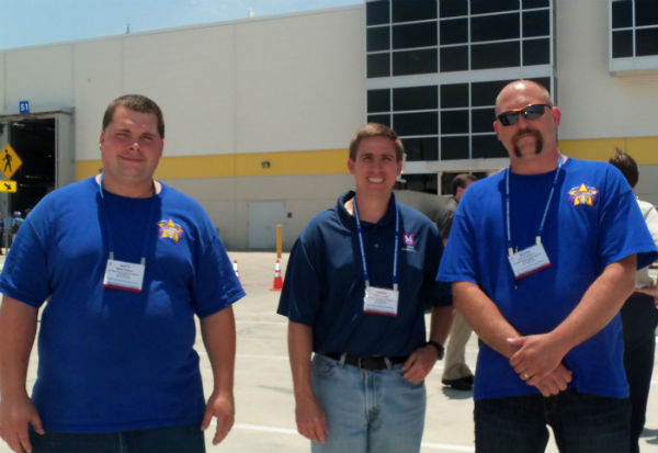 2012 Metro Rail Rodeo Maintenance Team Members Matt Fisher, Chris Lynch and Kevin Moore