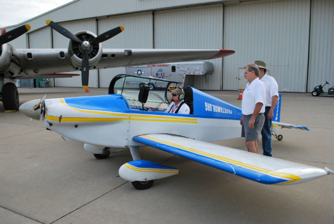 Brian Kissinger world record flight from St. Louis Downtown Airport