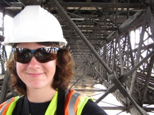 Inside the Eads Bridge
