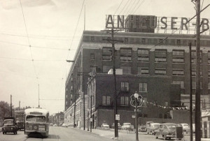 South Broadway in 1956