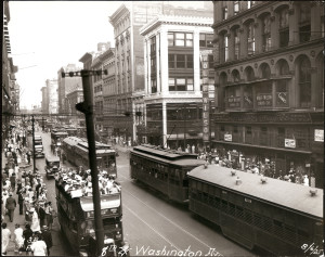 Wash Ave 1925