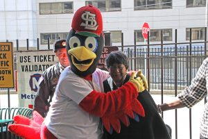 Fredbird and Elloise Reese