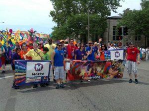 Pride June 24 2012 Metro marching