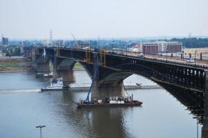 Eads Bridge and John Nations MoDOT Video Shoot 053