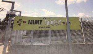 Muny Trolley Banner
