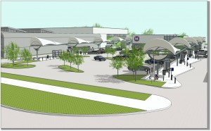 North County Transit Center rendering