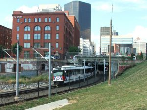 MetroLink Downtown STL