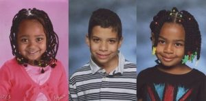 Lucas and Linda's grandchildren: Madyson, Kaden and Kameryn