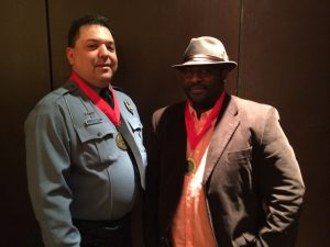 Metro Public Safety Officer Gerald Abernathy and Metro Call-A-Ride operator Lamont Moore