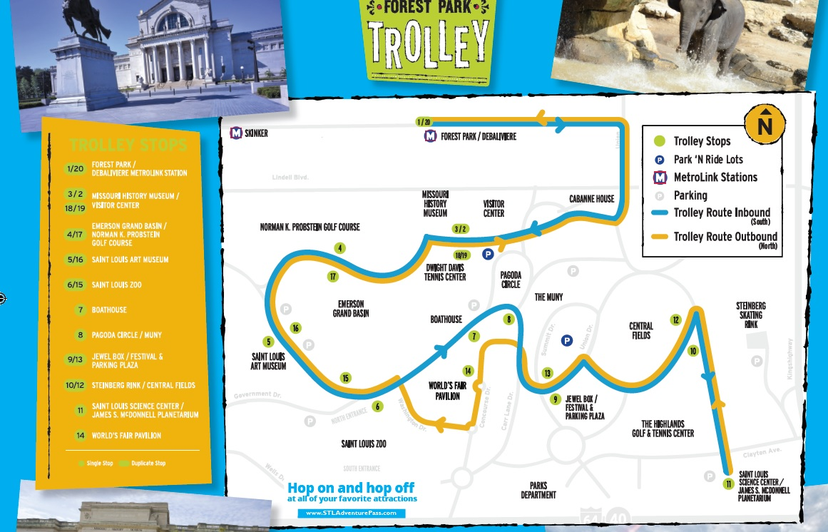 Forest Park Trolley Returns to Forest Park May 1 | Metro Transit ...