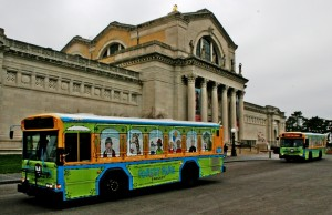 Forest Park Trolley at art museum