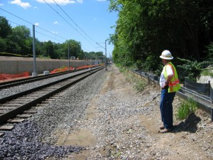 Construction on ML (337)