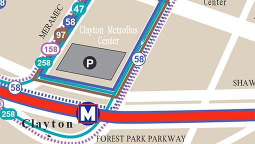 System Maps Metro Transit St Louis