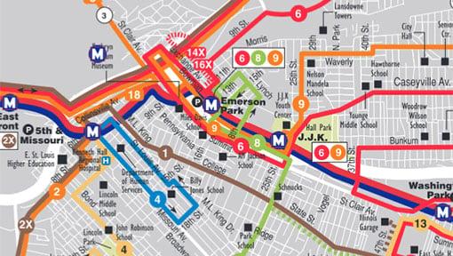 Subway Map 1 Train Route.System Maps Metrostlouis Org Site Metro Transit St Louis