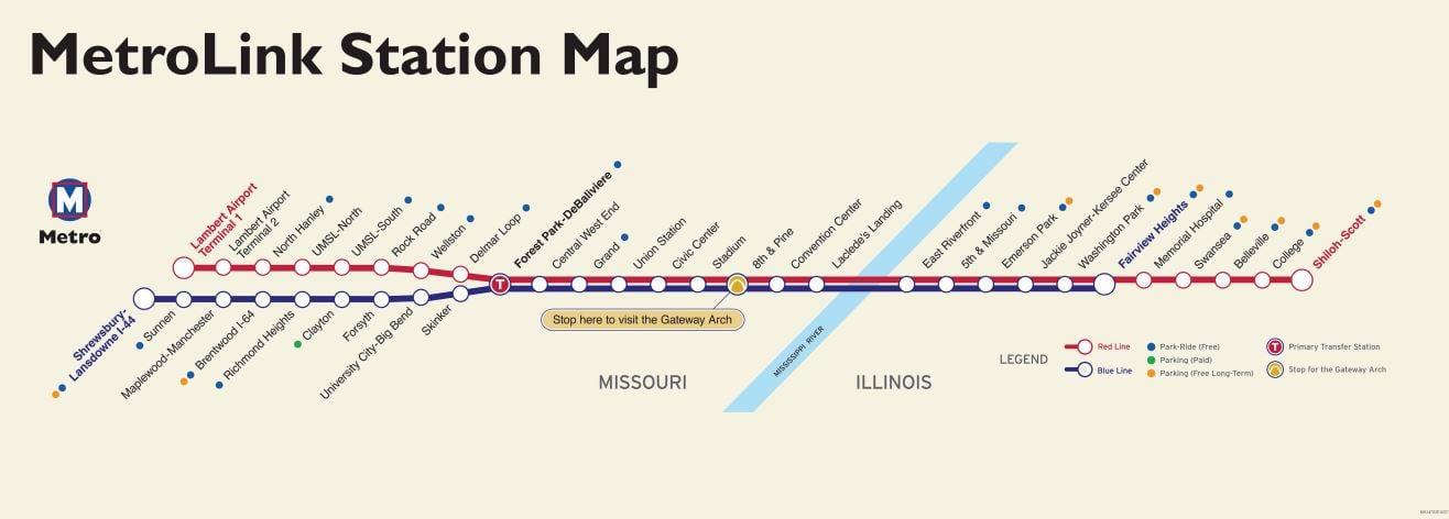 MetroLink - Metrostlouis org Site | Metro Transit – St  Louis