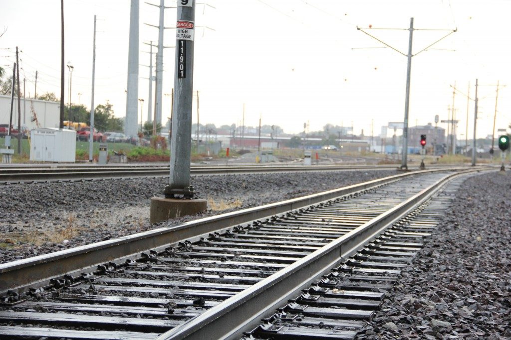 Photo of MetroLink tracks