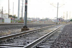 Photo of MetroLink tracks