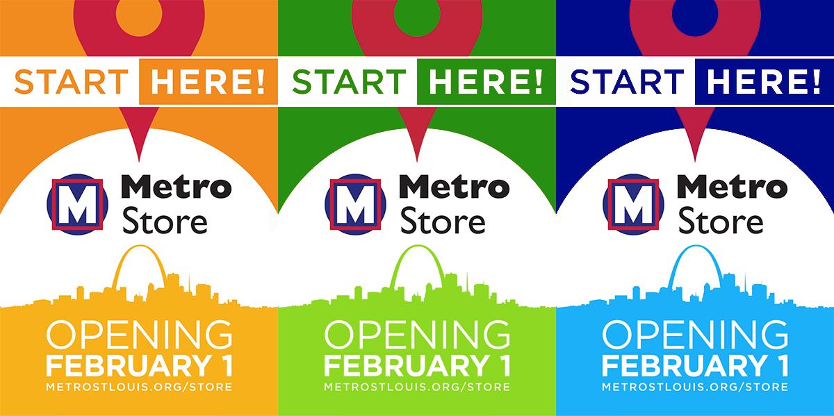 MetroStore Opening Banner