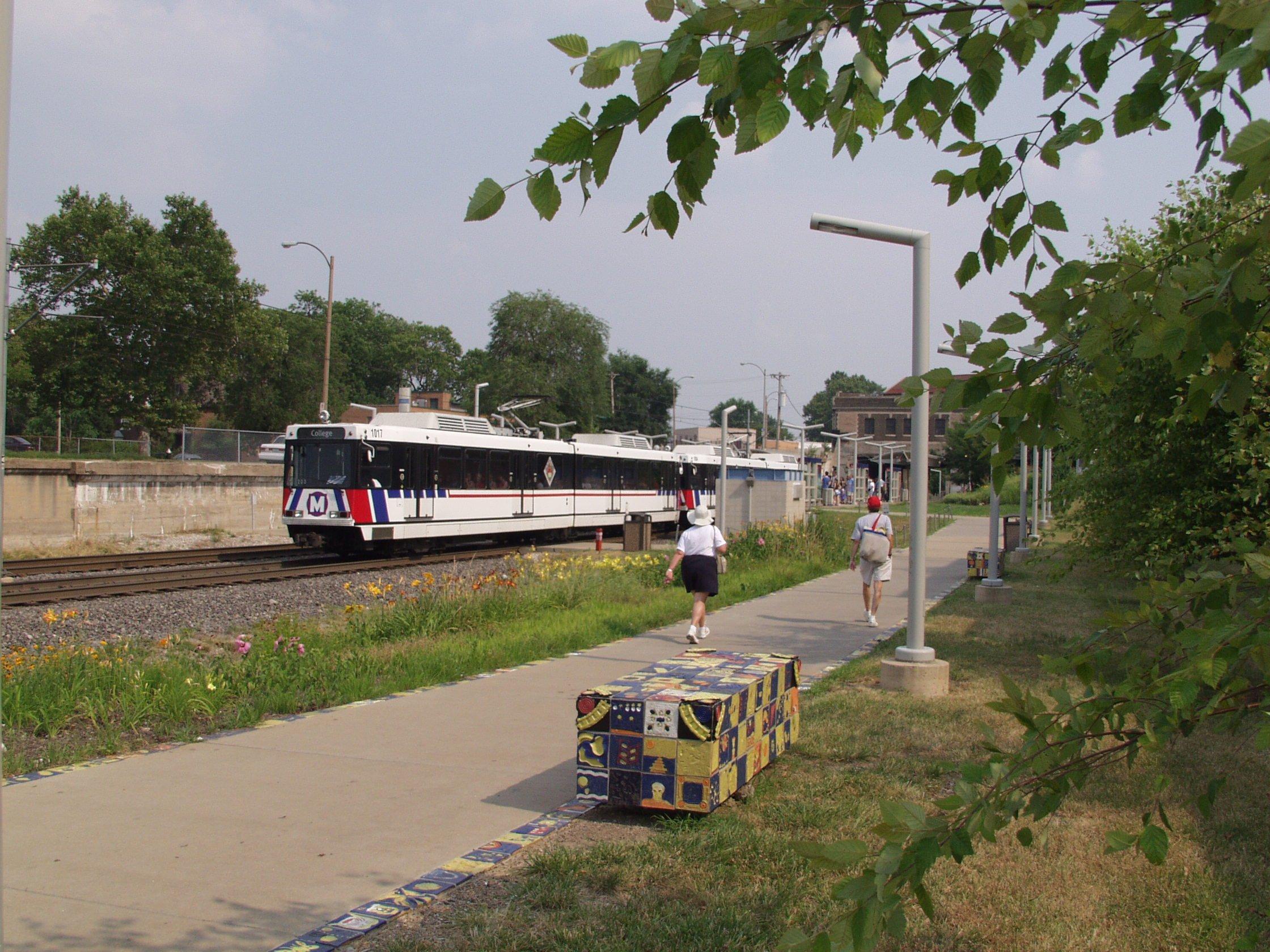 MetroLink at Delmar
