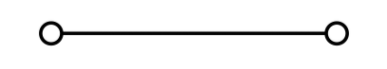 line segment connecting two points