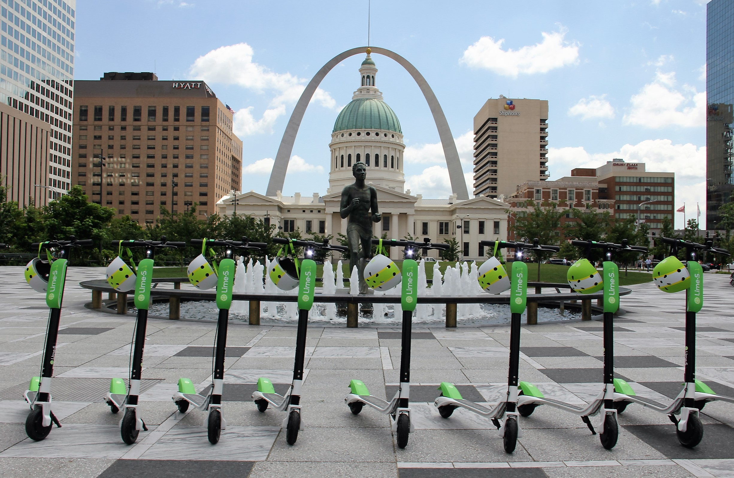 Lime Launches Electric Dock Free Scooter Service