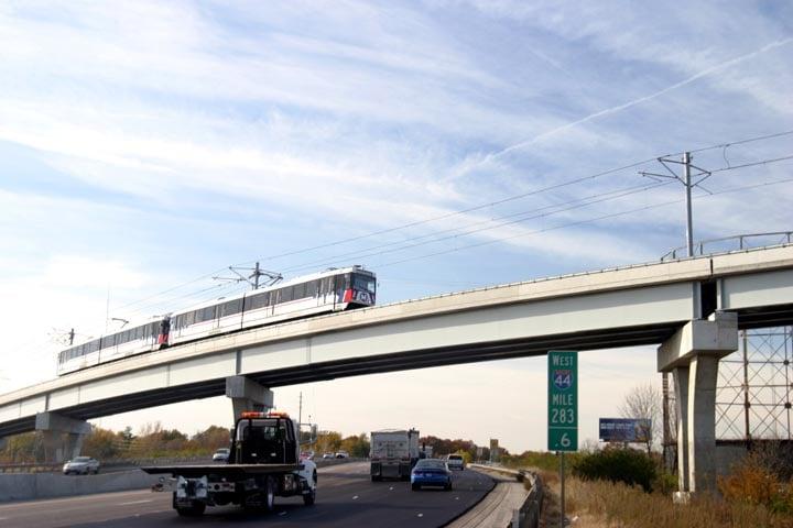 MetroLink overpass