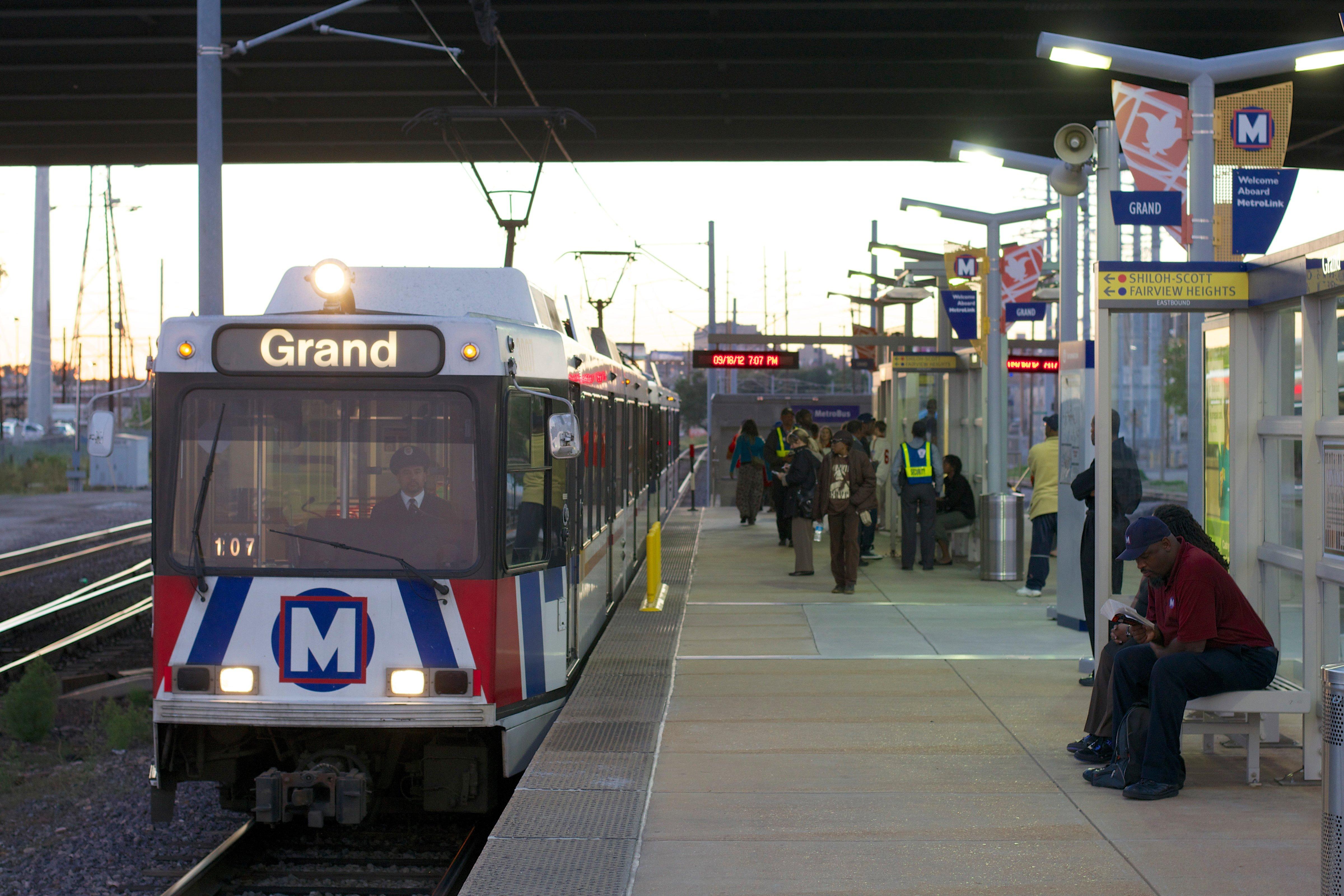 MetroLink Stop