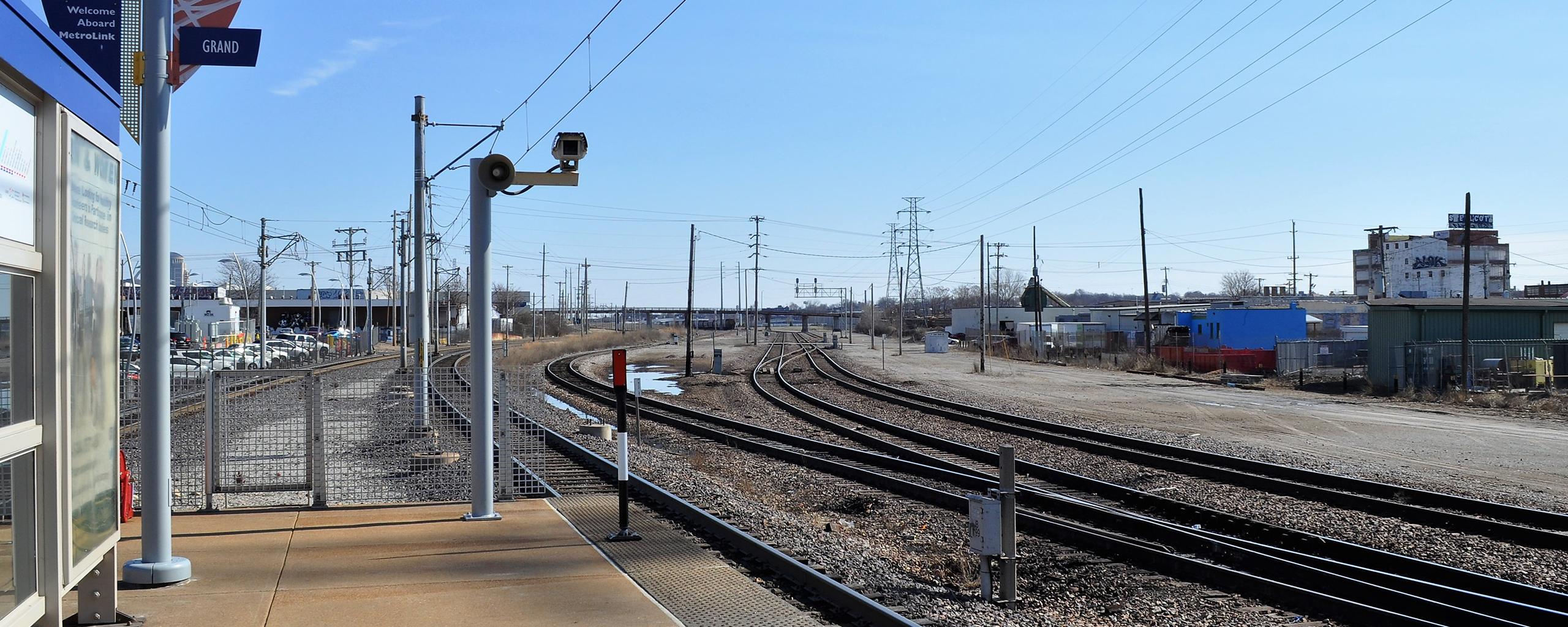 Read More | Grand MetroLink Station tracks
