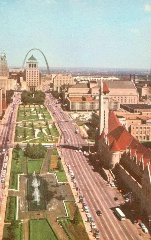 Historic photos of downtown st louis