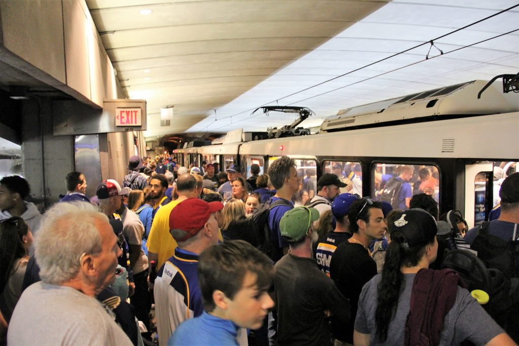 Metro Sees Record Ridership From Stanley Cup Parade And