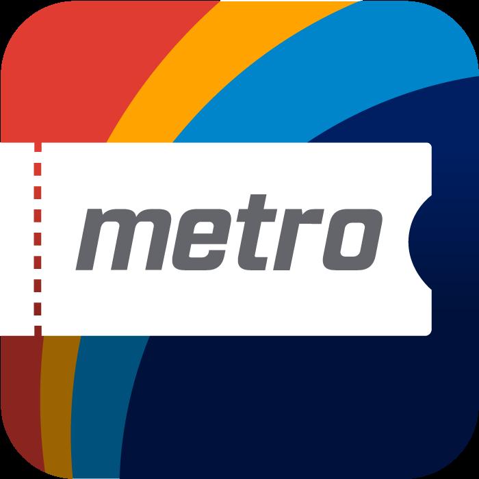 Metro Mobile App Icon