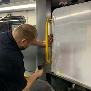 Installing polycarbonate shields