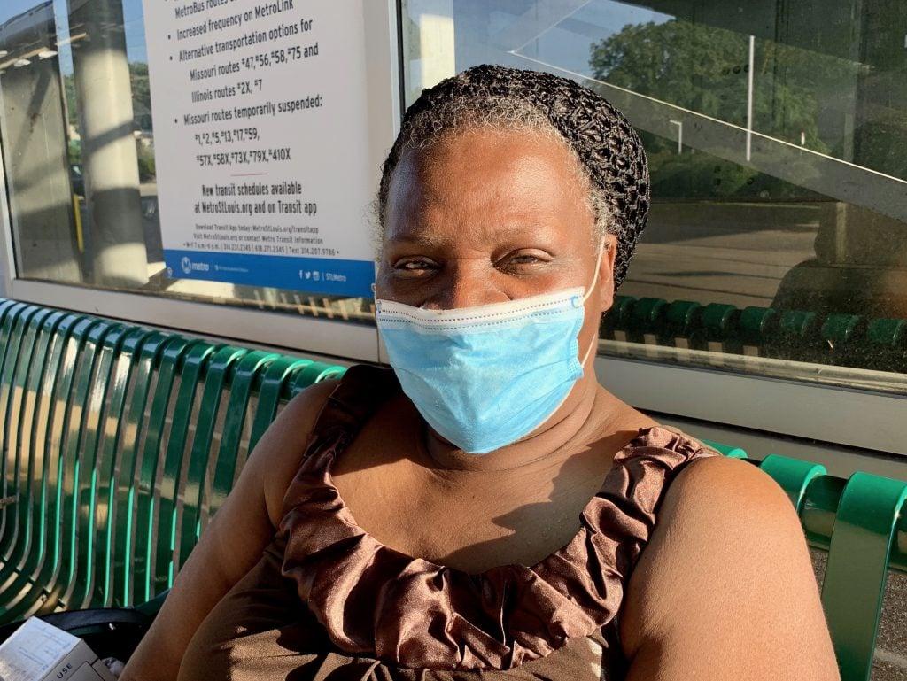 Image of Wanda, Metro Transit passenger