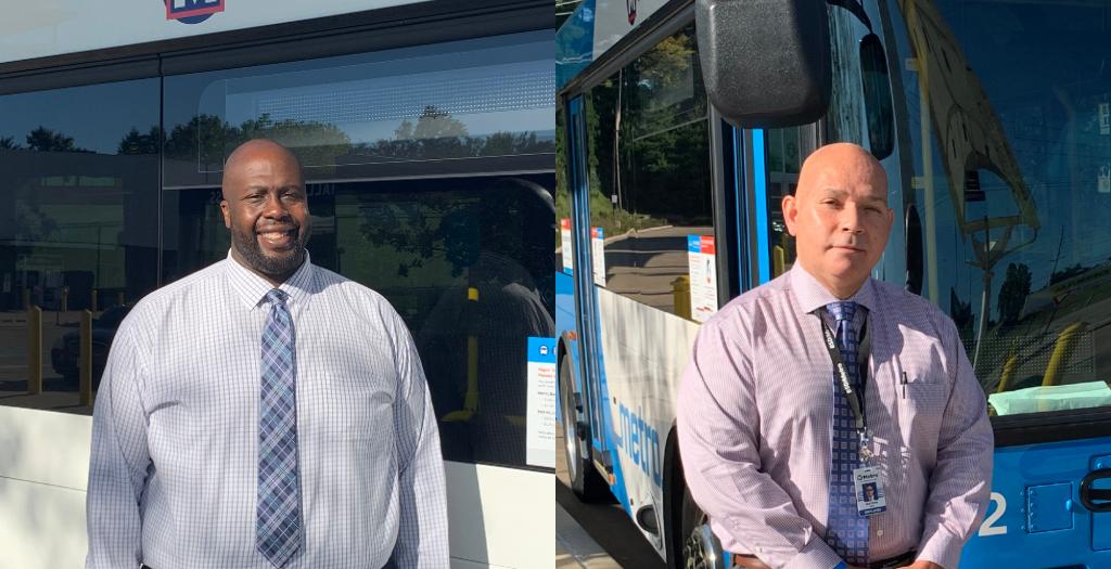 New Metro Transit team members Melvin Barkley and Bertram De Sha