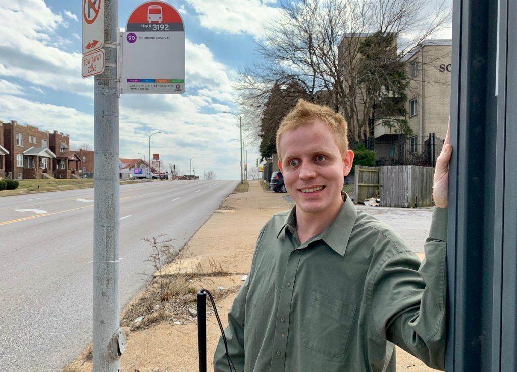 Everett, a Metro Transit rider