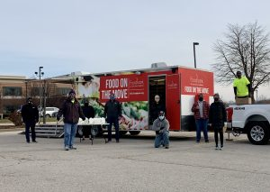 Image of the St. Louis Area Foodbank Food on the Move mobile pantry