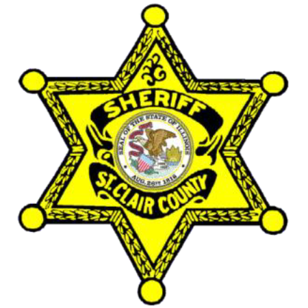 St. Clair County Sheriff's badge