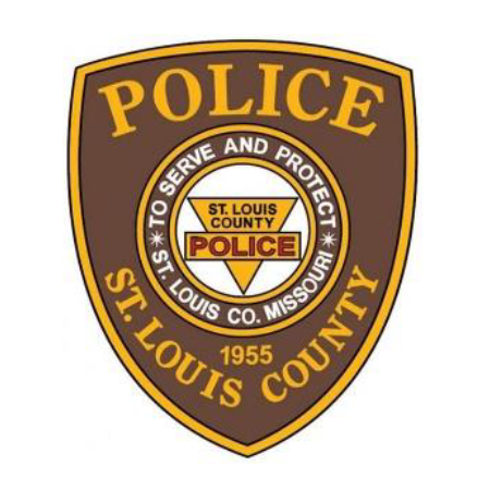 St. Louis County police badge