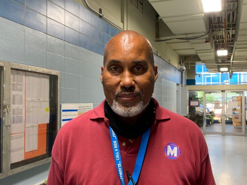 Metro Call-A-Ride Operator David Lee