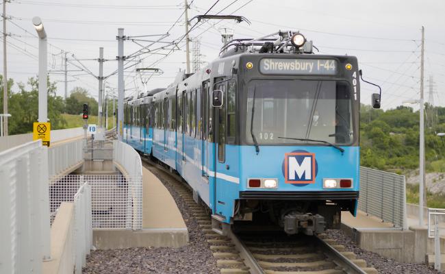 MetroLink approaches Shrewsbury